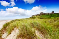 Bamburgh Castle, Northumberland Royalty Free Stock Image