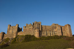 Bamburgh Castle in Northumberland Royalty Free Stock Image