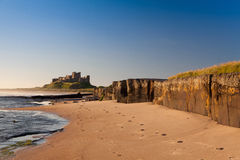Bamburgh Castle, Northumberland, England, Europe Royalty Free Stock Photos
