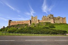 Bamburgh castle, Northumberland, England UK Royalty Free Stock Image