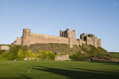 Bamburgh Castle, Northumberland Royalty Free Stock Photo