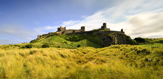 Bamburgh castle, Northumberland taken from the North Royalty Free Stock Images