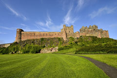 Bamburgh castle, Northumberland taken from the North Royalty Free Stock Image