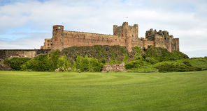 Bamburgh castle, Northumberland taken from the North Royalty Free Stock Photography