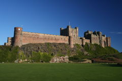 Bamburgh Castle, Northumberland, UK Stock Photos