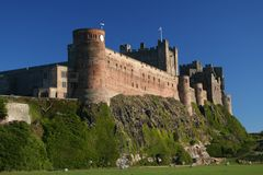 Bamburgh Castle, Northumberland, UK Stock Image