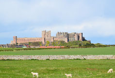 Bamburgh Castle. Northumberland UK. Photo taken April 2015 Stock Photography