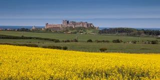 Bamburgh Castle Stock Image