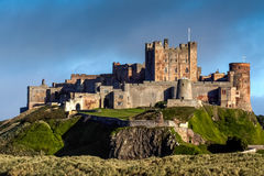 BAMBURGH, NORTHUMBERLAND/UK - AUGUST 15 : View of Bamburgh Castl Stock Images