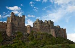 Bamburgh slott Royaltyfri Fotografi