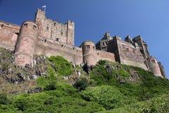 Bamburgh slott Royaltyfria Bilder