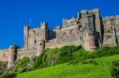 Bamburgh slott, Northumberland Royaltyfri Fotografi