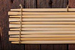 Bambusów kije Zdjęcia Royalty Free