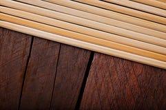 Bambusów kije Zdjęcie Royalty Free