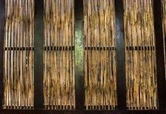 Bambus ścienna tekstura Obraz Stock