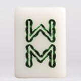 """Bambus do †de Mahjong"""" foto de stock royalty free"""