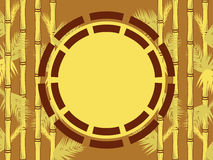 Bambus-Feld Lizenzfreie Abbildung