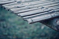 Bambus machte einzigartige Strukturvorratphotographie lizenzfreie stockfotos