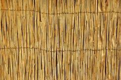 Bambus-Mat Horizontal Background stockbild