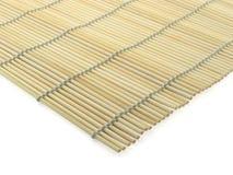 Bambus-Matte Stockfoto