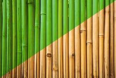 Bambus płotowa tekstura, bambusowy tekstury tło, bambusowy starzenie się procesu tło Obrazy Royalty Free