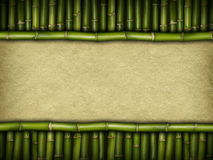 Bambus papier i bambus Obraz Stock