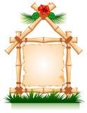 bambus rama Obraz Royalty Free