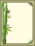 Bambus stationär Stockbild