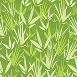 Bambus verzweigt sich nahtloser Musterhintergrund Stockbild