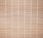 Bambus-Vorhänge Stockfotos