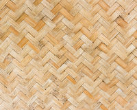 Bambus wyplata scenę Obraz Royalty Free