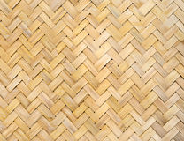 Bambus wyplata teksturę Obraz Stock