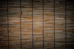 Bambus wyplata tekstury deseniowego tło Obraz Stock