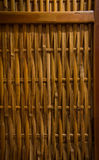 Bambus wyplatający tło Fotografia Stock