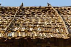 Bambusa dach Fotografia Royalty Free
