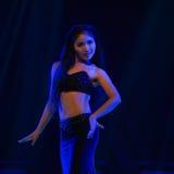 Bambusa multiplex-The national folk dance Royalty Free Stock Images