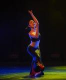 Bambusa multiplex-The national folk dance Stock Images
