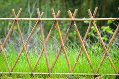 bambusa ogrodzenie Zdjęcia Royalty Free