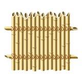 bambusa ogrodzenie Obraz Royalty Free