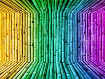 Bambusa tła tapety wymiarowy gradientowy rocznik Obrazy Stock