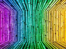 Bambusa wymiarowego rocznika tła gradientowa tapeta Obraz Royalty Free
