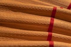Bambusbeschaffenheit mit hellem Licht Stockfotografie