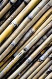 Bambusbeschaffenheit in portait Ansicht Stockbild