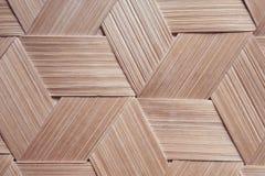 Bambusbeschaffenheit vom Korb, Handarbeit lizenzfreie stockbilder