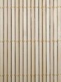 bambuservetttextur Arkivbilder