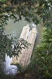 Bambusfloss Lizenzfreie Stockbilder