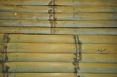 Bambusfußboden Stockfotografie