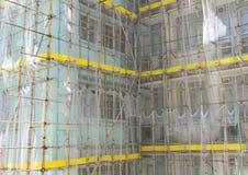 Bambusgestelle Stockbild
