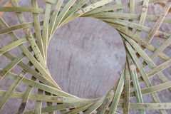 Bambushühnerstall Lizenzfreies Stockbild