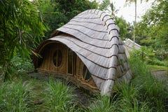 Bambushütte in Bali Lizenzfreies Stockfoto